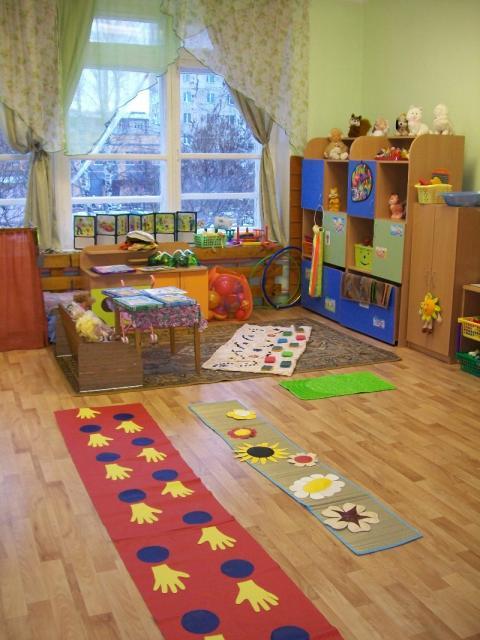 Физ уголок в детском саду