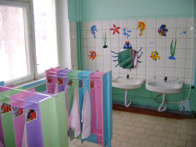 Оформление умывальной комнаты в детском саду своими руками