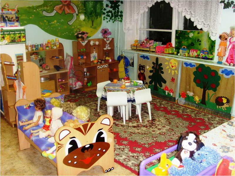 Оформление для игровых зон в детском саду своими руками