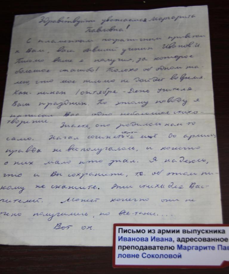 письмо мужчине для знакомства на английском